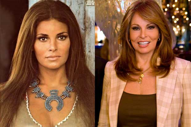 Raquel Welch Now And Then Raquel welchRaquel Welch Now And Then