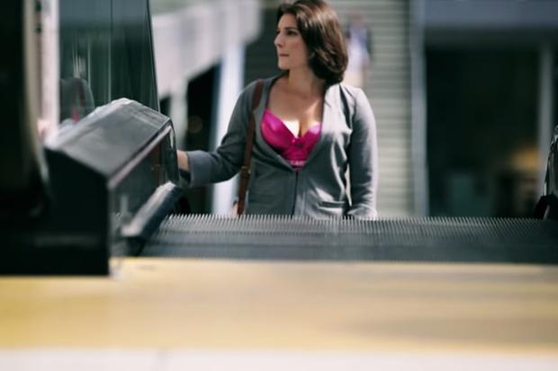 Woman Wears 'Hidden Camera Bra' To Show How Often Men Look At Her Chest