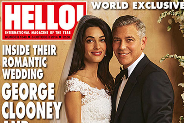George Clooney's First Wedding Photos Are Here!