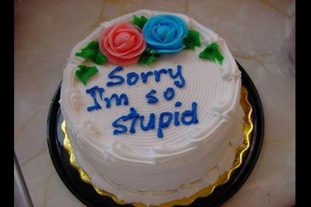 The Best Apology Cakes In The World Ever