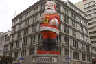 Auckland's Giant Santa Retires Ahead Of Christmas