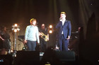 Ed Sheeran Makes Surprise Appearance At Sam Smith Concert