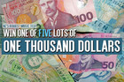 Win one of FIVE chances at $1000 with MusicLab