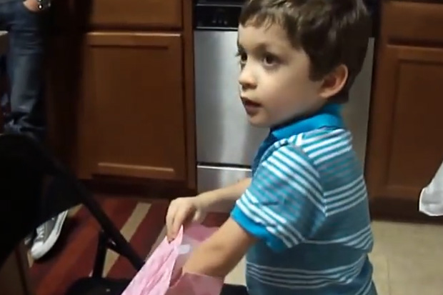 This Kid Received a Banana for Mother's Day, But No One Expected Him To React Like This