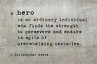 What it Means to be a Hero