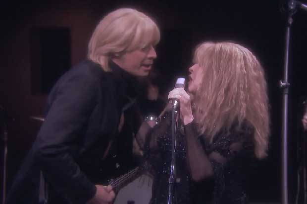 Jimmy Fallon and Stevie Nicks Recreate 'Stop Draggin' My Heart Around'