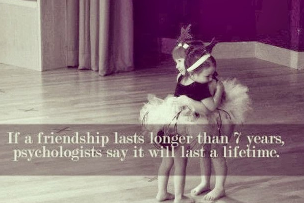 The Fact of Long Friendships