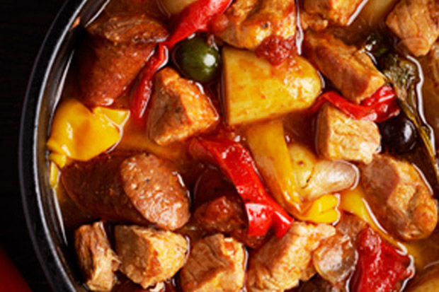 100% NZ Pork & Chorizo Spanish Stew