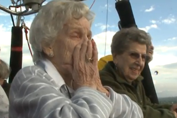 Friends Help 90-Year-Old Woman Fulfill Childhood Dream
