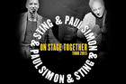 Paul Simon & Sting On Stage Together