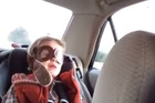 Little Boy Gets Upset From Sad Song On The Radio