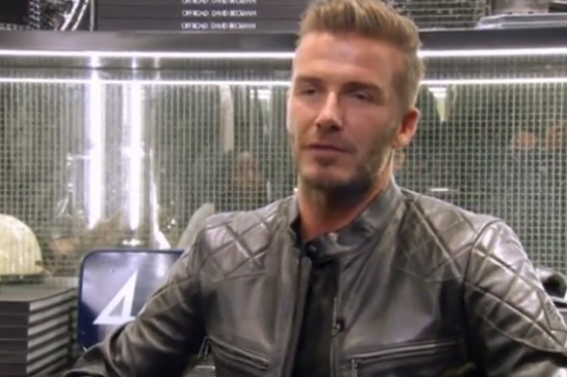David Beckham Tells Kate & Wills 'To Get More Sleep'