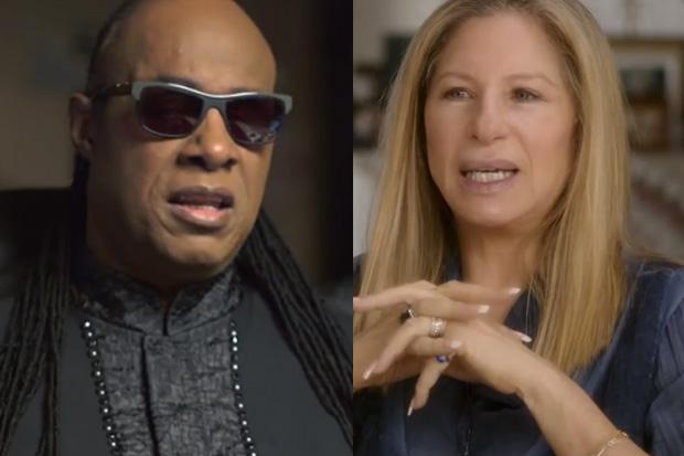Barbra Streisand Sings 'People' With Stevie Wonder