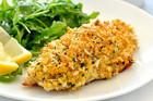 Healthy Parmesan Garlic Crumbed Fish
