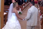 Father Serenades His Daughter Down The Aisle