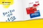 Win $100 Worth Of Gift Cards With AA Insurance!