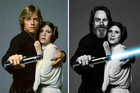 Star Wars stars THEN and NOW