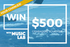 Enter to win with Music Lab!