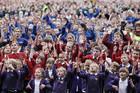 WATCH: 5,000 School Children Attempt To Break Haka World Record