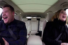 Adele + James Corden carpool karaoke