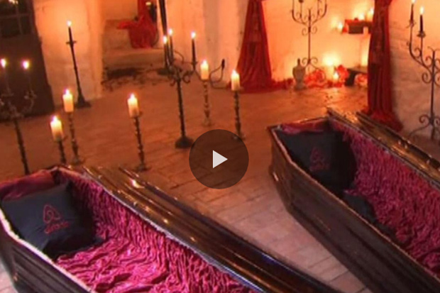 Airbnb offers stay in Count Dracula's castle