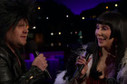 Cher performs modern version of 'I Got You Babe' with James Corden