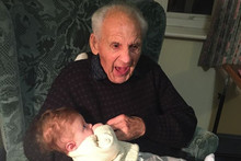 103 year old man dies at the exact time and date he was born