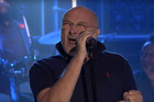 Phil Collins performs 'In The Air Tonight' on the tonight show