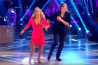 The sparkly duo Anastacia and Brendan Cole are back with a spicy Salsa