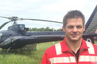 Richie McCaw helps out with earthquake rescue efforts