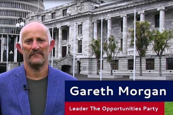 Gareth Morgan calls up for a chat