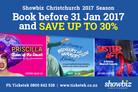 Showbiz Christchurch Is Launching a Massive 2017 Season