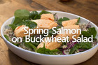 Salmon & Buckwheat Salad