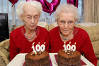 Twin Sisters celebrate their 100th birthday