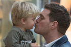 Michael Buble's adorable duet with son Noah before cancer diagnosis