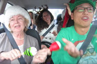 Uber driver gets his passengers to sing 'All I Want for Christmas'