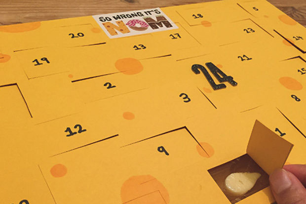 Cheese advent calendars are now a thing!