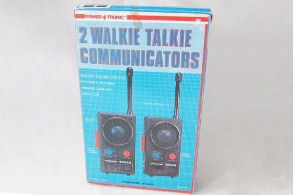 1973: Walkie Talkie Sets. Fun Fact: The first walkie-talkies were developed during World War II.