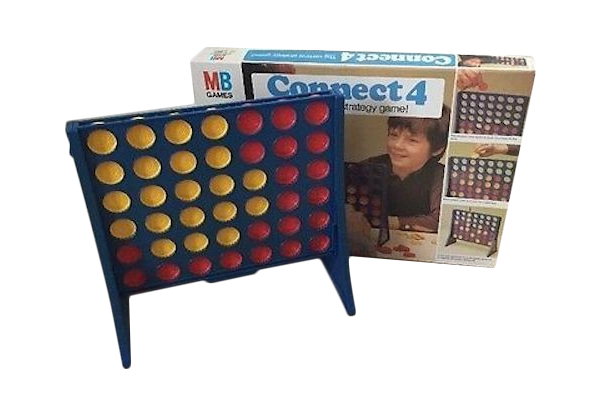 1976: Connect Four, Fun Fact: Connect Four might seem like a simple game, but did you know there are 4,531,985,219,092 possible game board positions?