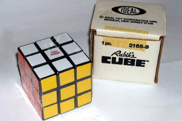 1980: Rubik's Cube. Fun Fact: The Rubik's Cube is widely recognized as the world's top-selling puzzle game and toy — as of 2009, over 350 million have been sold worldwide.