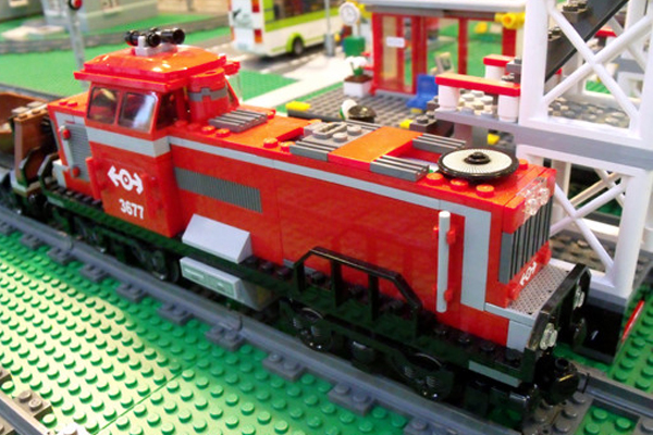1981: Lego Train. Fun Fact: Lego's first powered train was introduced in 1966, but the version that debuted in 1980 had far more bells and whistles.