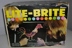 1970: Lite-Brite. Fun Fact: You don't have to worry about losing all the pegs these days — there's now a Lite-Brite iPad app.