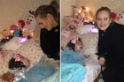 Adele races home from show to visit terminally ill 12-year-old fan
