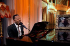 John Legend revamps the Downton Abbey theme song