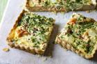 Recipe: Salmon and Watercress Quiche