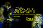 Keith Urban and Carrie Underwood are coming to New Zealand