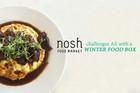 Ali Leonard steps up to the Nosh Winter Food Box Challenge
