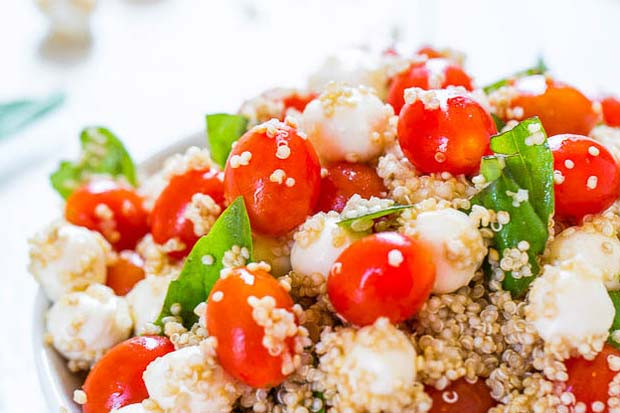 19 easy ways to use QUINOA in your lunch