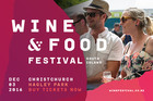South Island Wine & Food Festival Is Back!