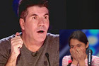 Simon almost falls of his seat after hearing 13 year-old opera singer